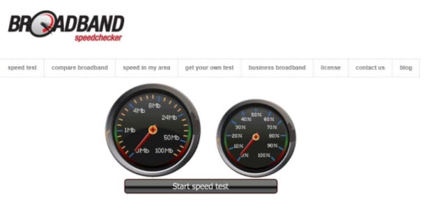 Broad Band Speed Checker