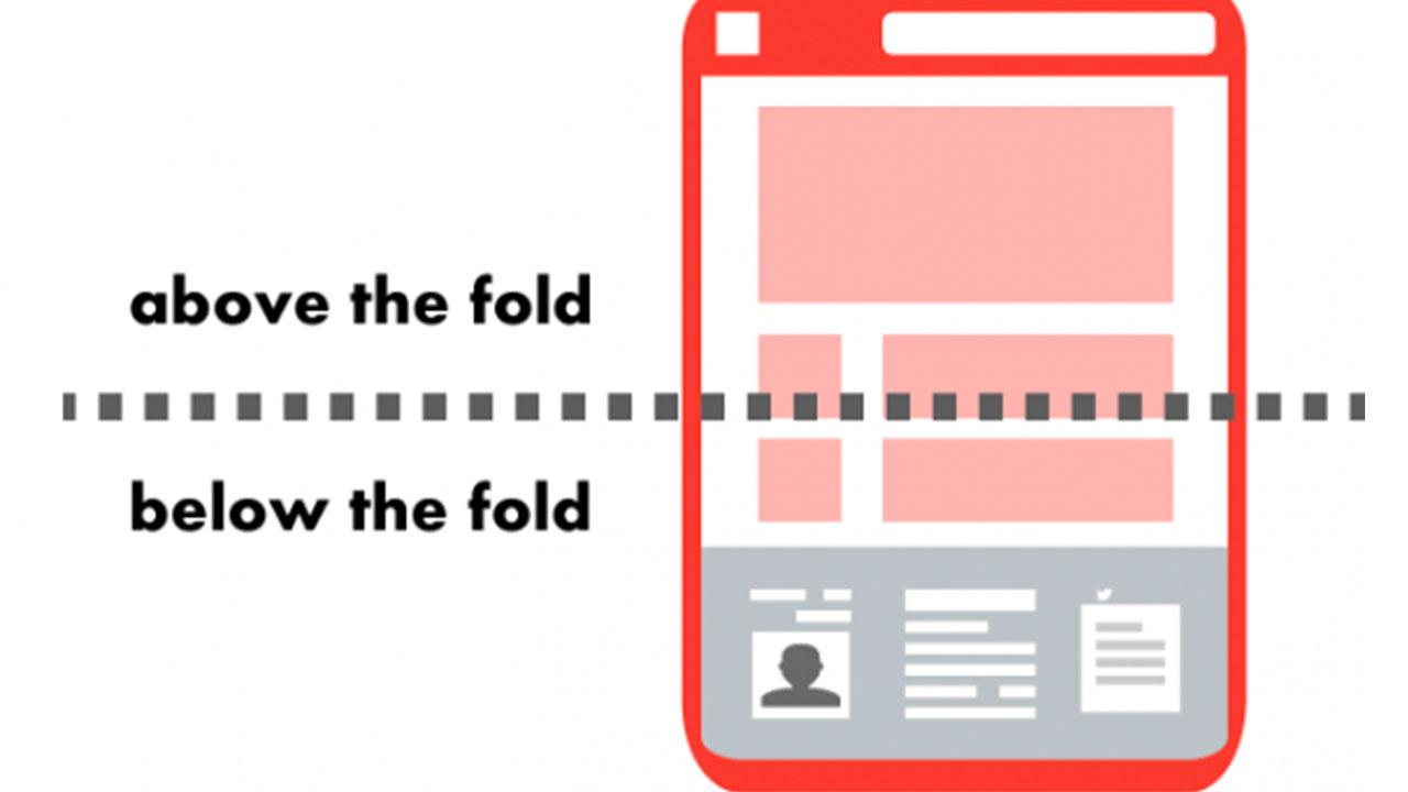 Contenuti Above The Fold: come risolvere