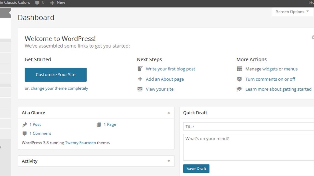 Cambiare url di login o amministrazione in WordPress