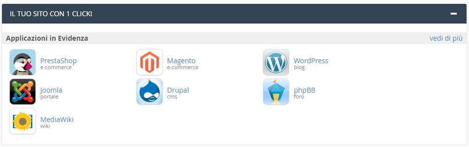 installare wordpress hosting provider
