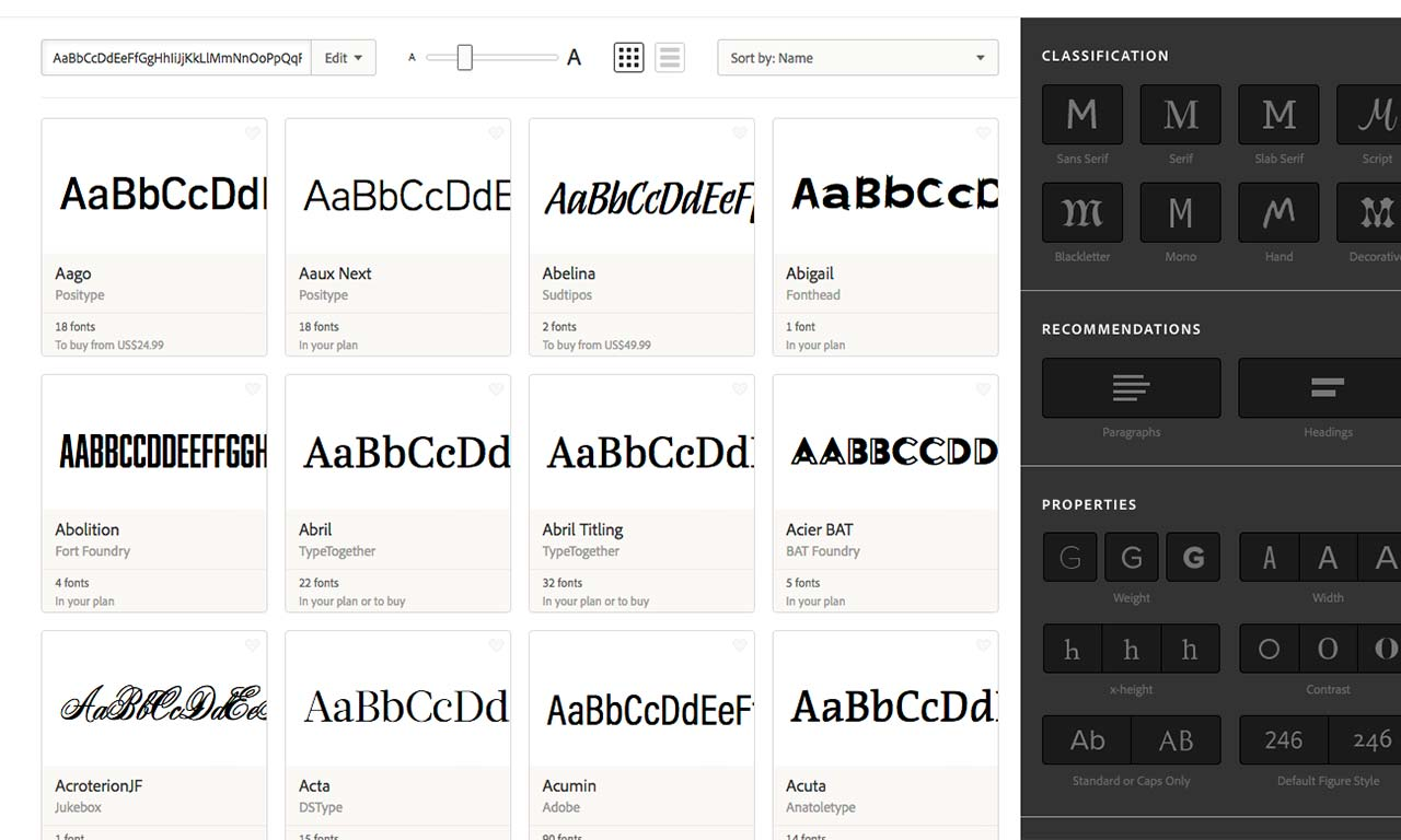 Come usare Typekit