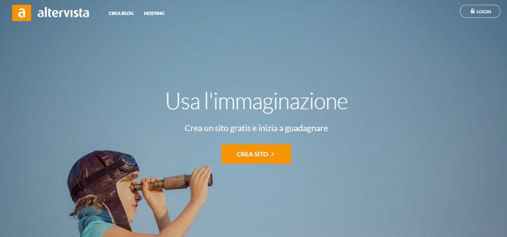 Altervista hosting gratuito