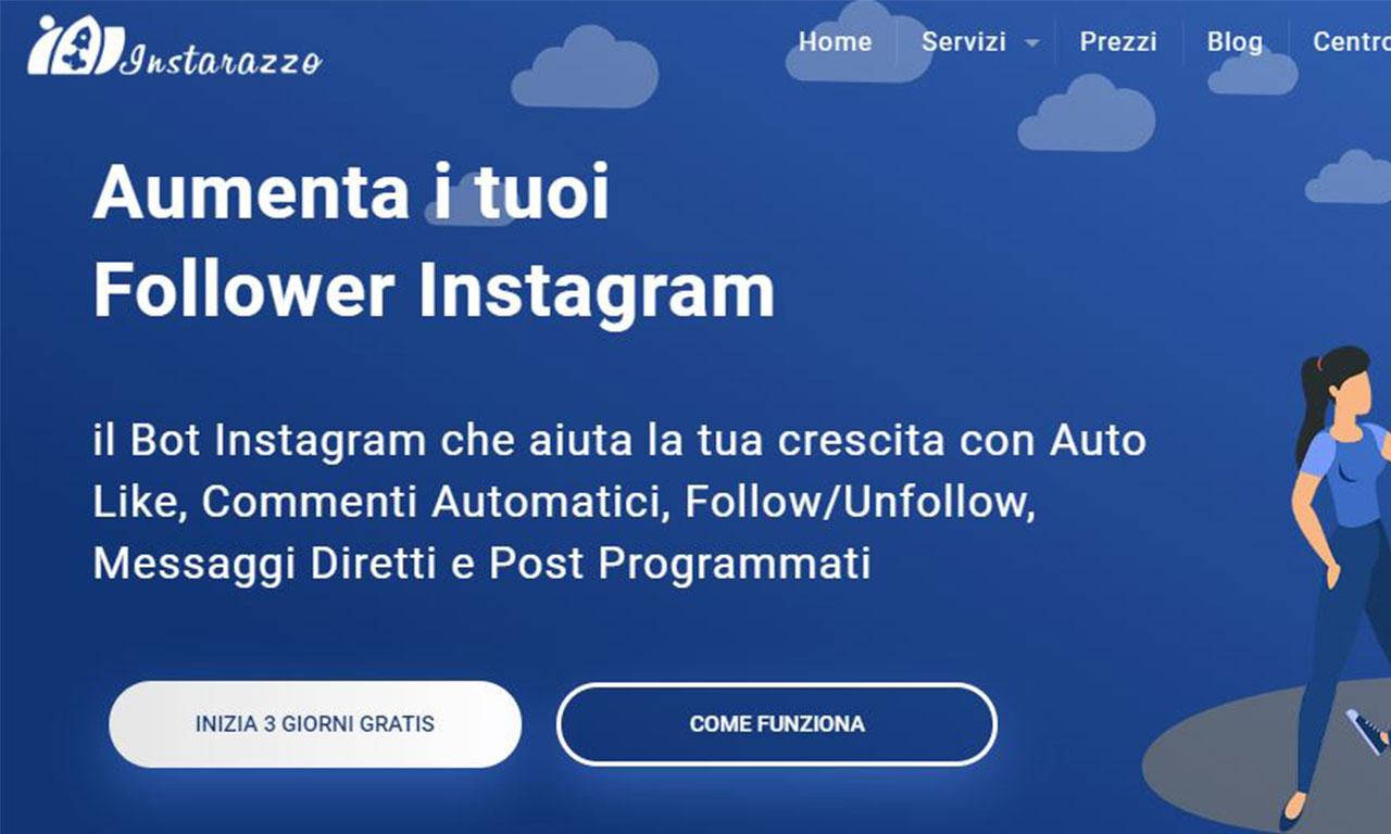 Instarazzo: un bot instagram semplice ed efficace