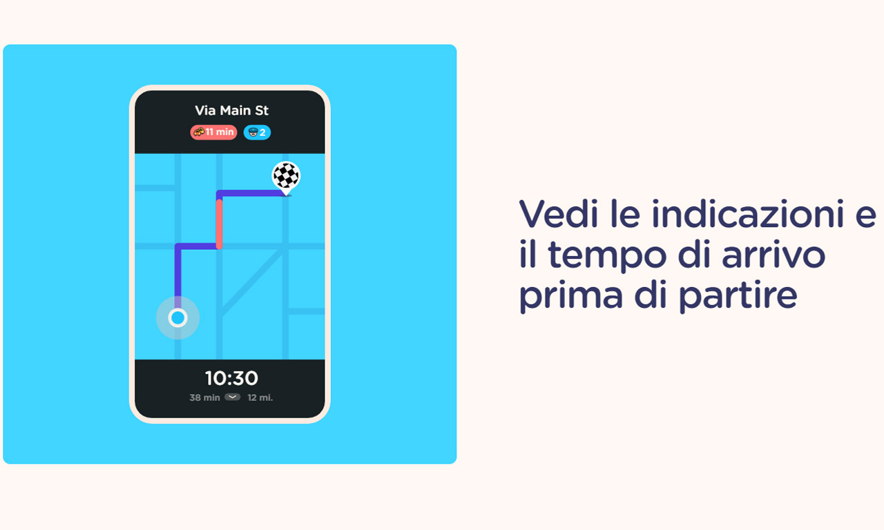Come funziona Waze il navigatore social
