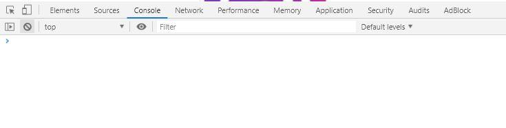Console Google Chrome