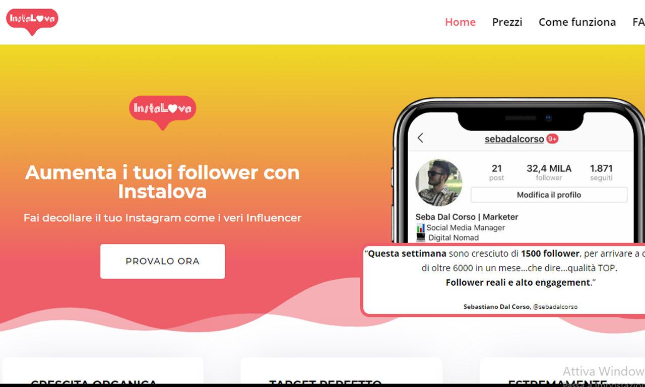 Instalova: un rivoluzionario bot instagram