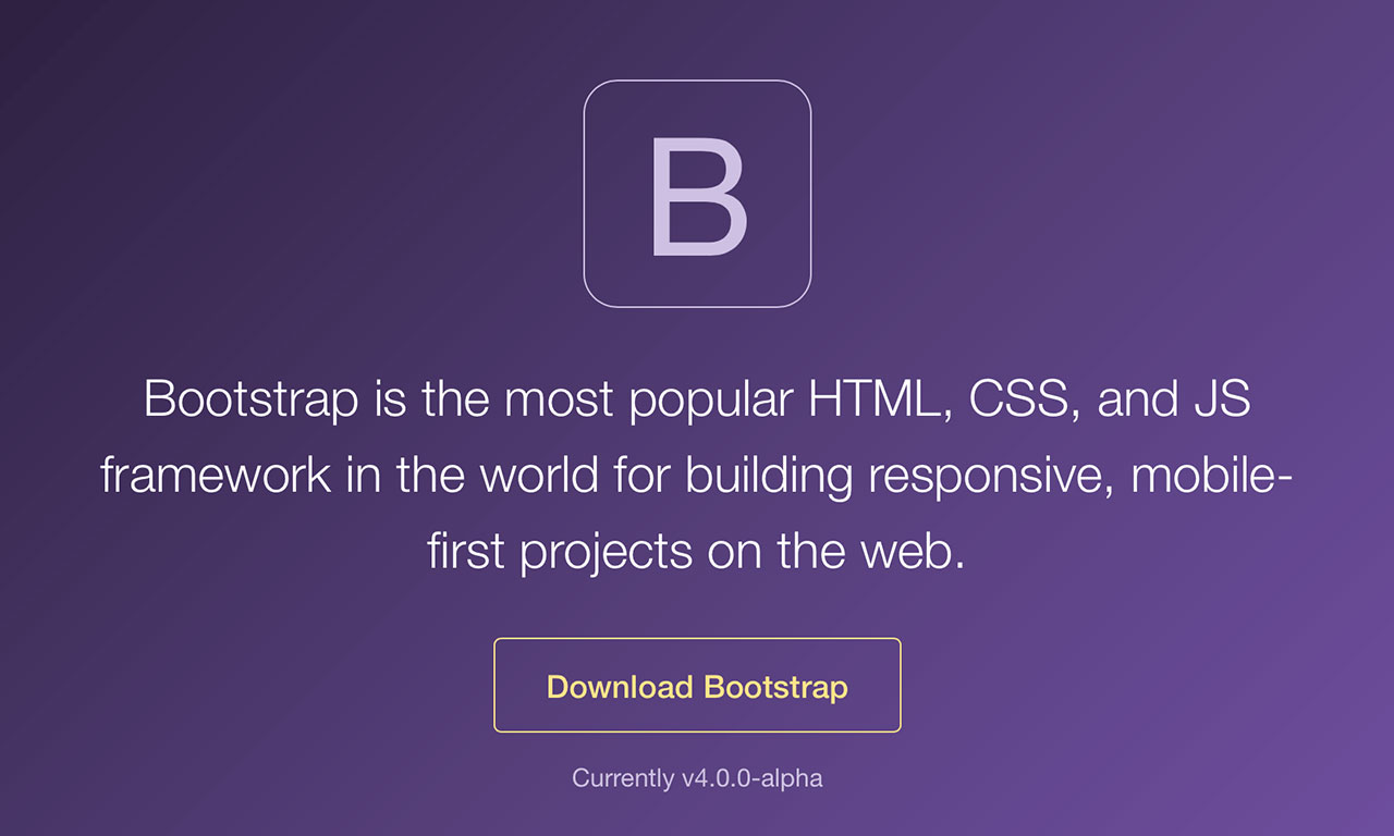bootstrap a cosa serve