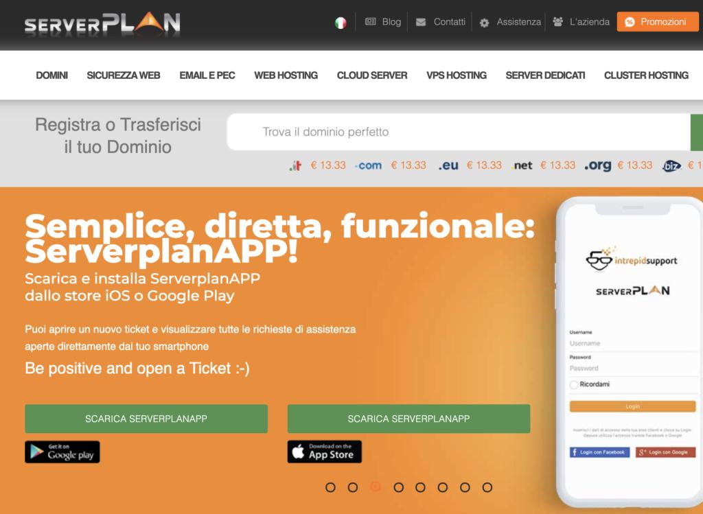 Serverplan - hosting provider