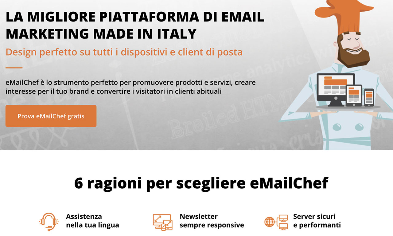 eMailChef Software di Email Marketing