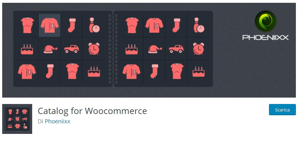 Catalog for woocommerce