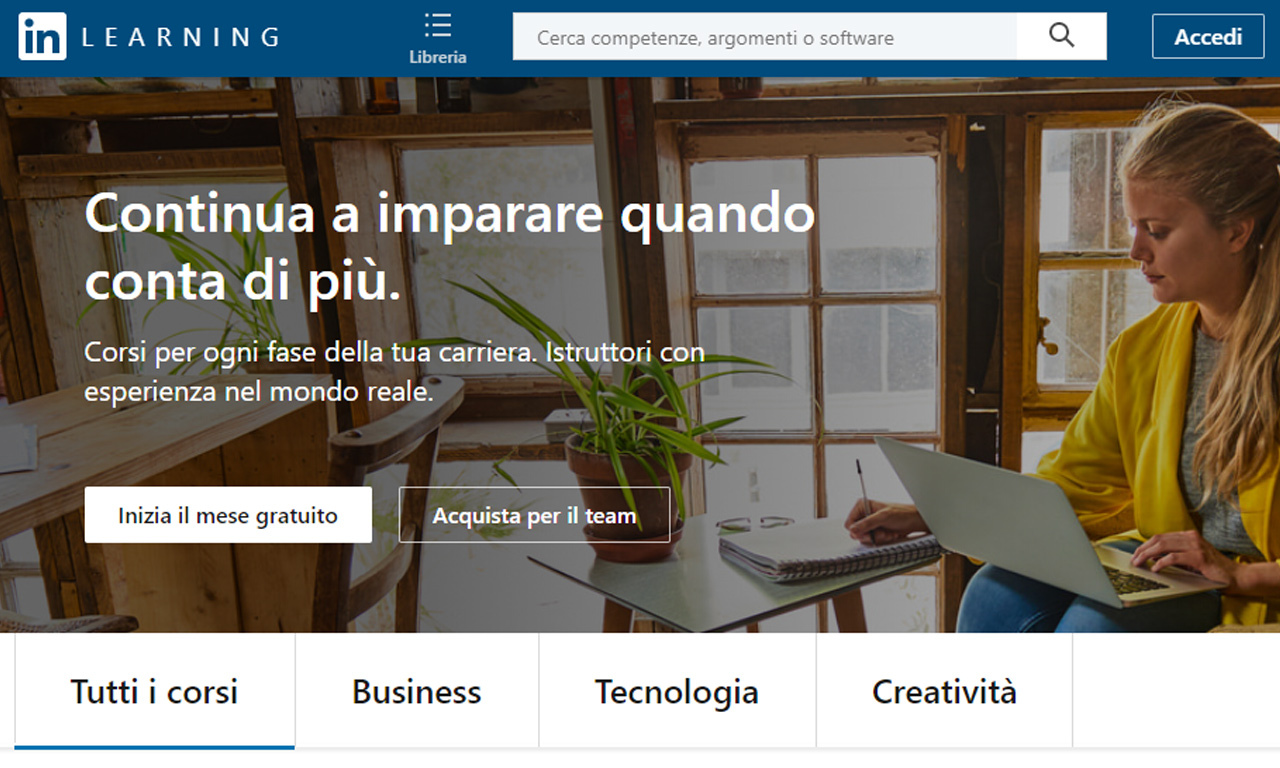 linkedin learning quanto costa come funziona