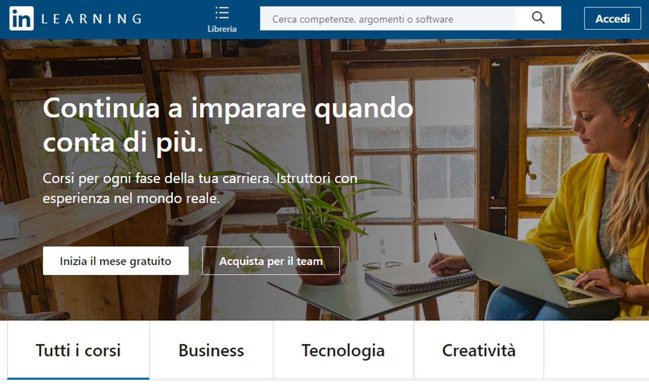 LinkedIn Learning: come migliorare le tue competenze