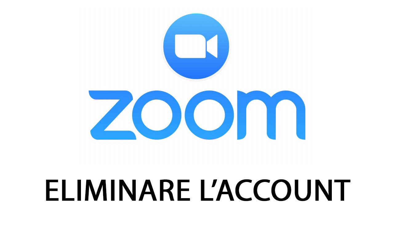 eliminare account zoom