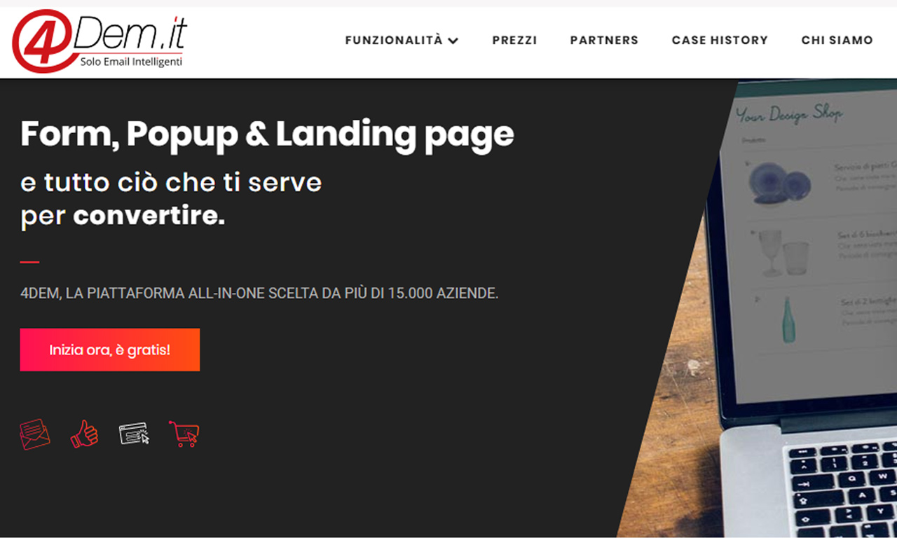 4Dem: La piattaforma italiana per Email Marketing