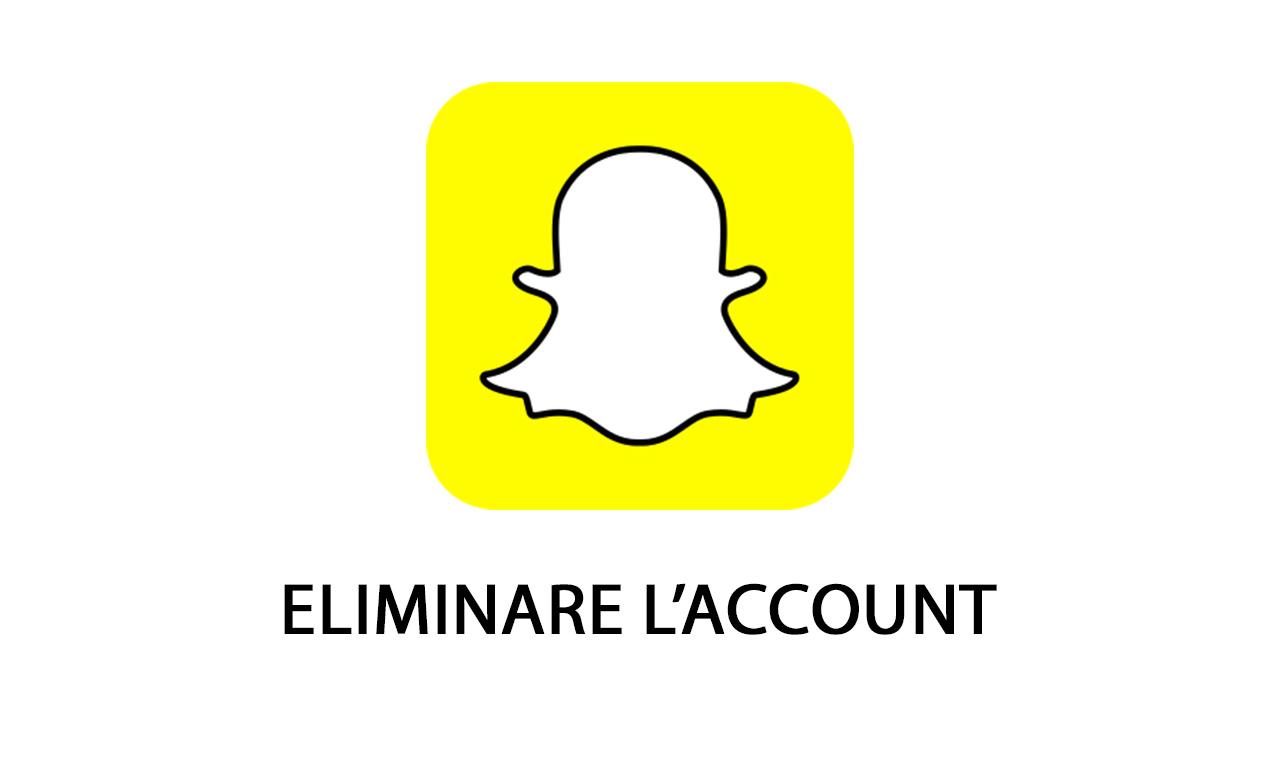 Come eliminare l'account Snapchat