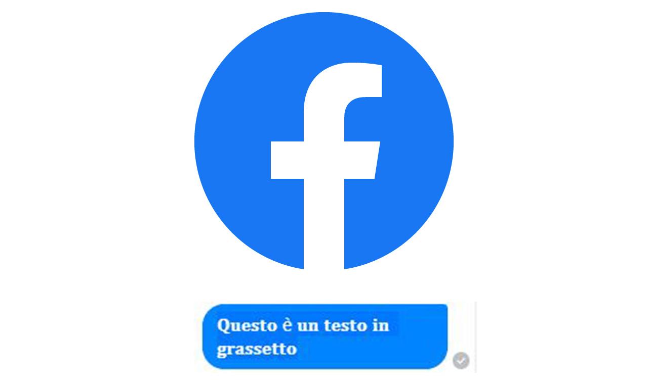 Facebook: come scrivere in grassetto