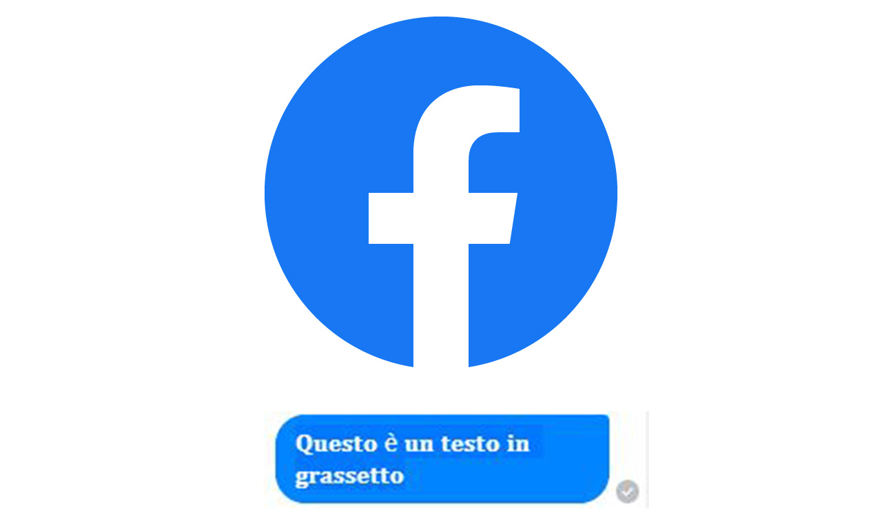 Facebook: come scrivere in grassetto