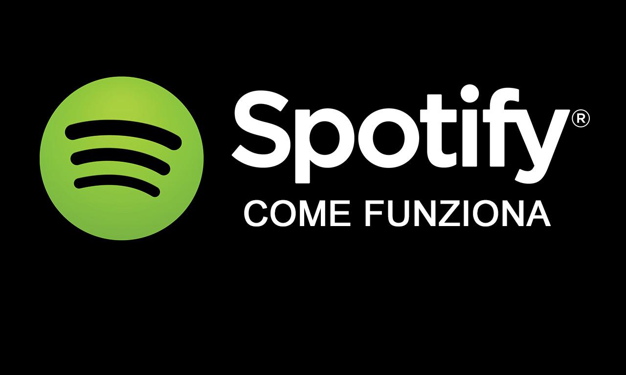 Spotify come funziona ascoltare musica