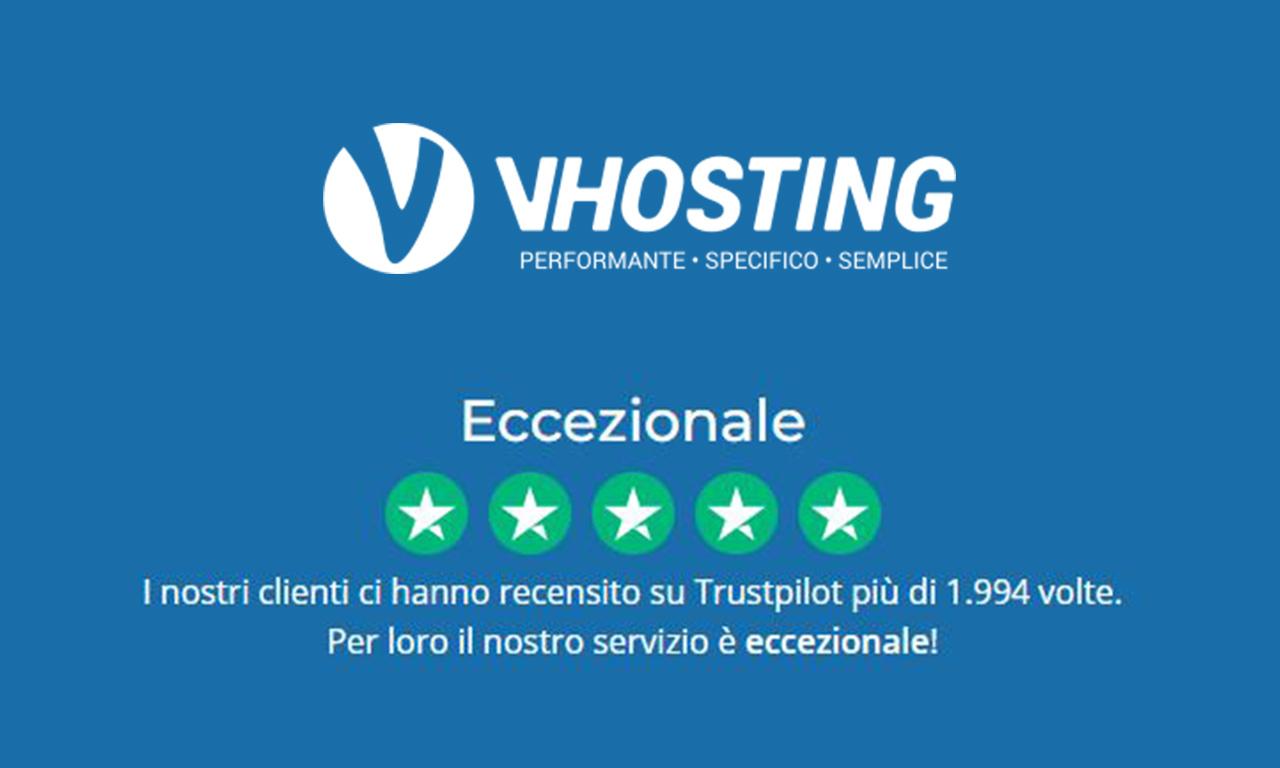 VHosting: Hosting italiano ottimizzato per WordPress