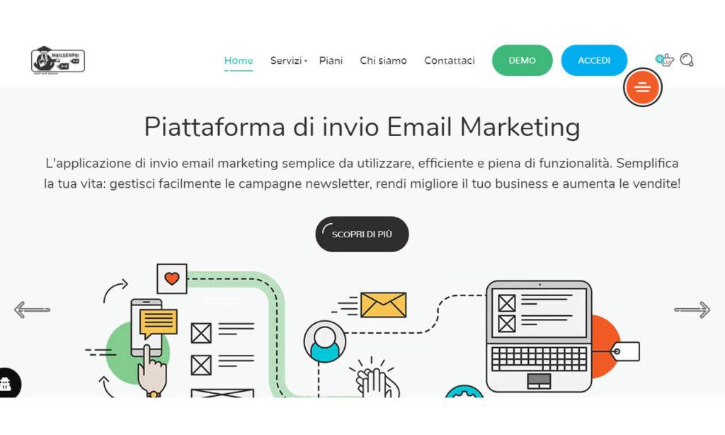MailSenpai piattaforma email marketing