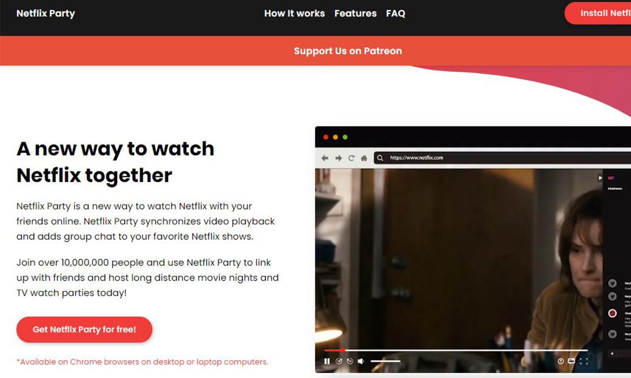 Netflix Party: come funziona