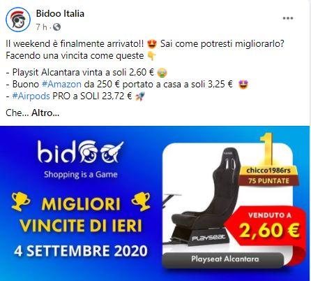 bidoo facebook