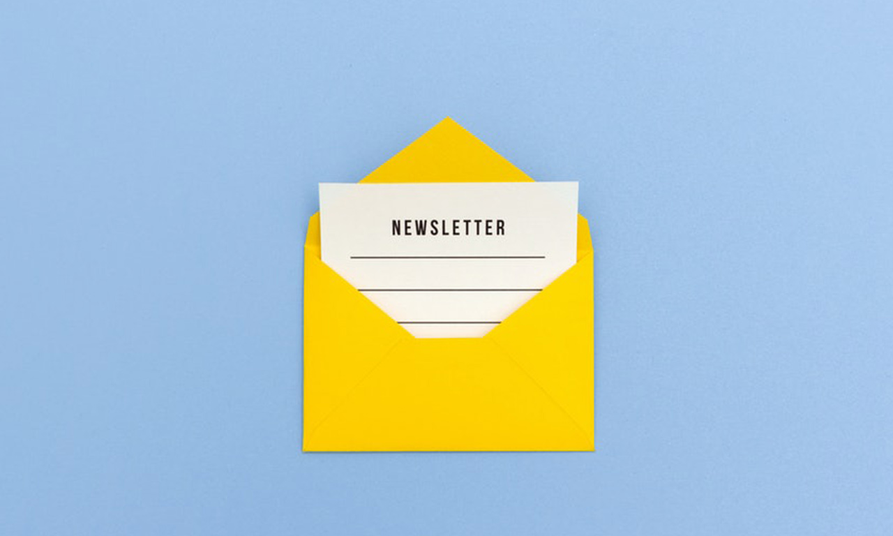 impostare newsletter html
