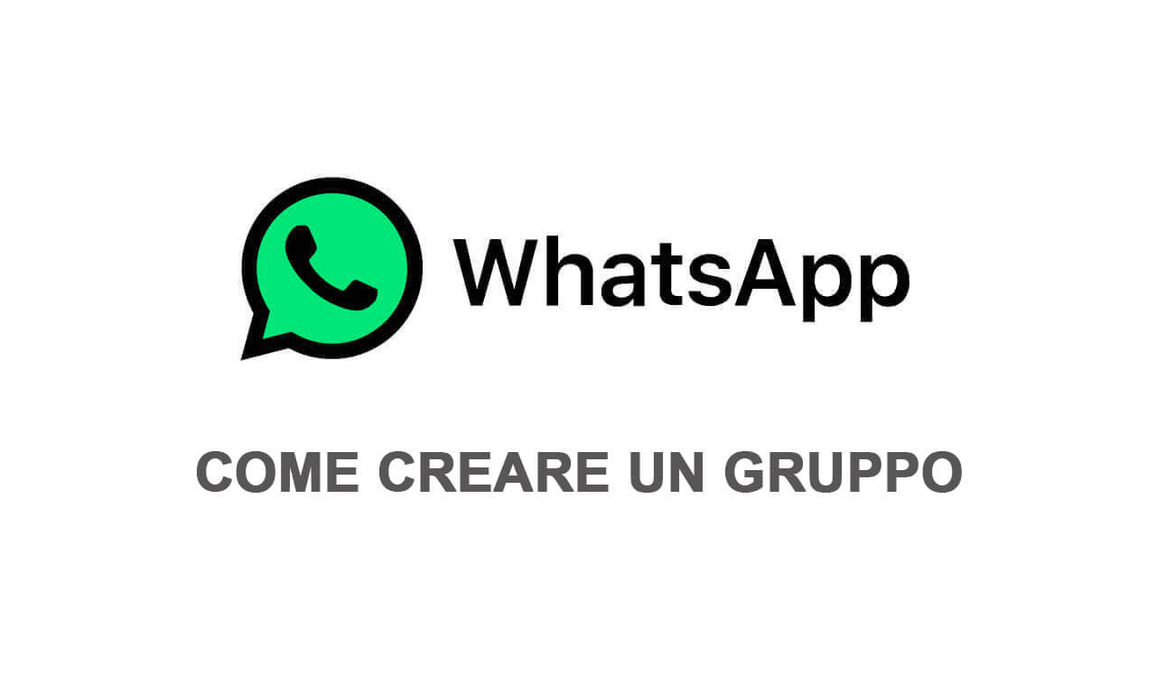 Come creare un gruppo Whatsapp
