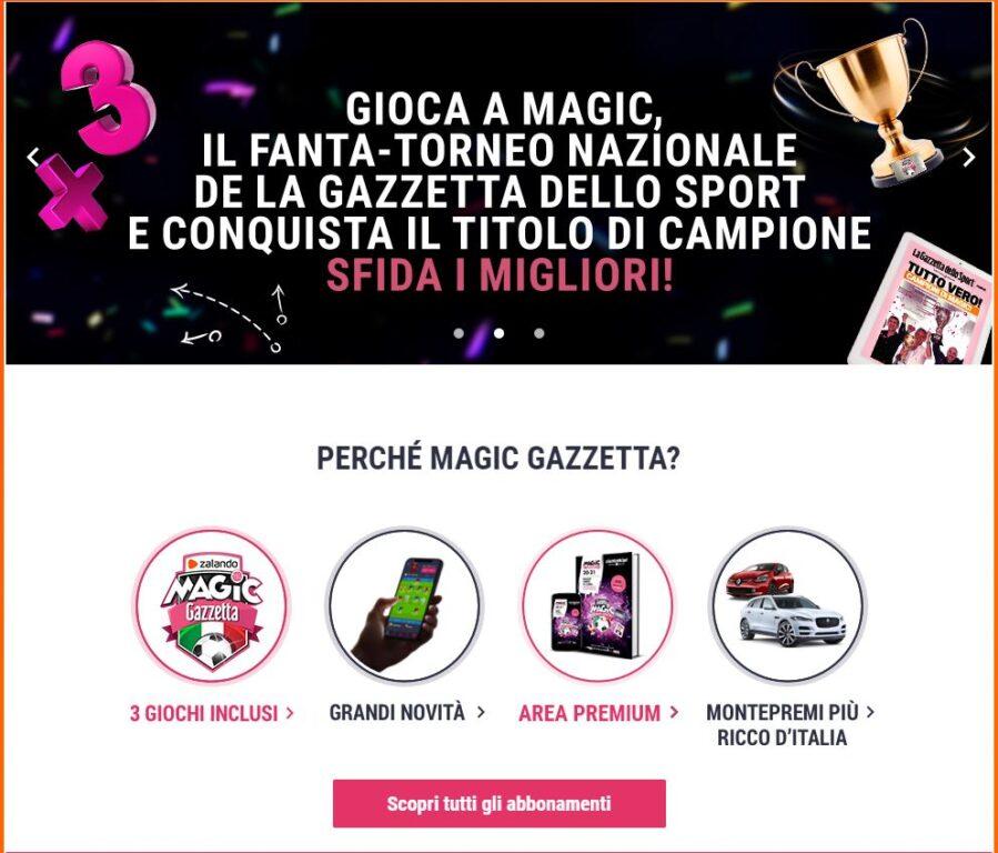 Magic Gazzetta
