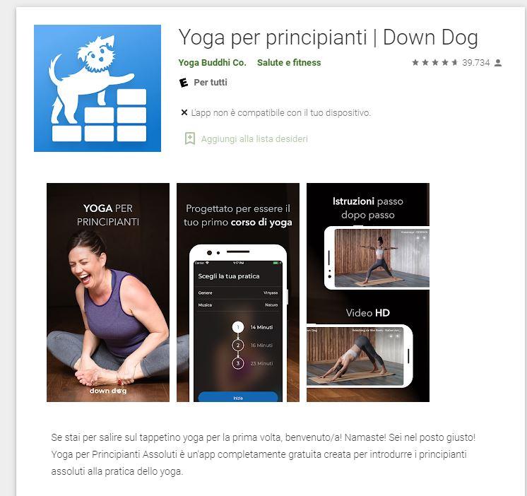 Yoga per principianti assoluti