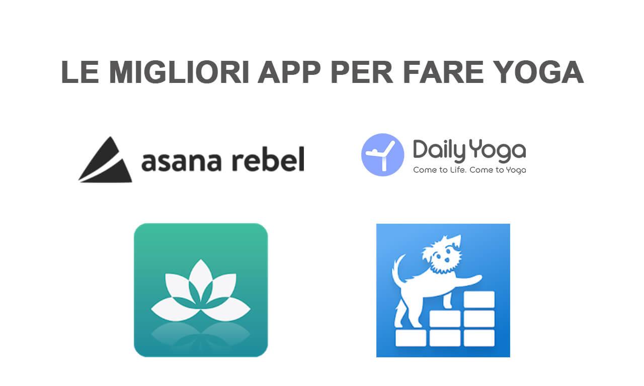 Migliori app per fare Yoga