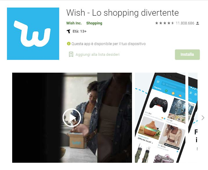 wish android