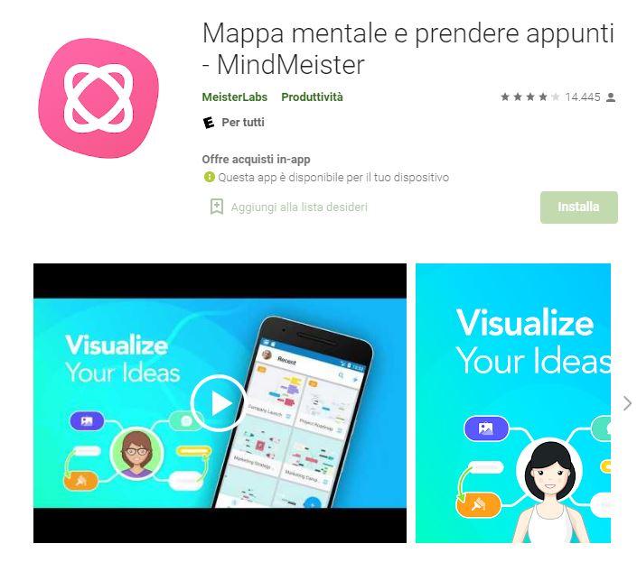 MindMeister app