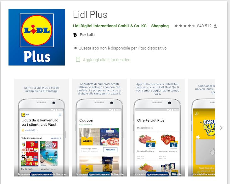 app lidl plus android
