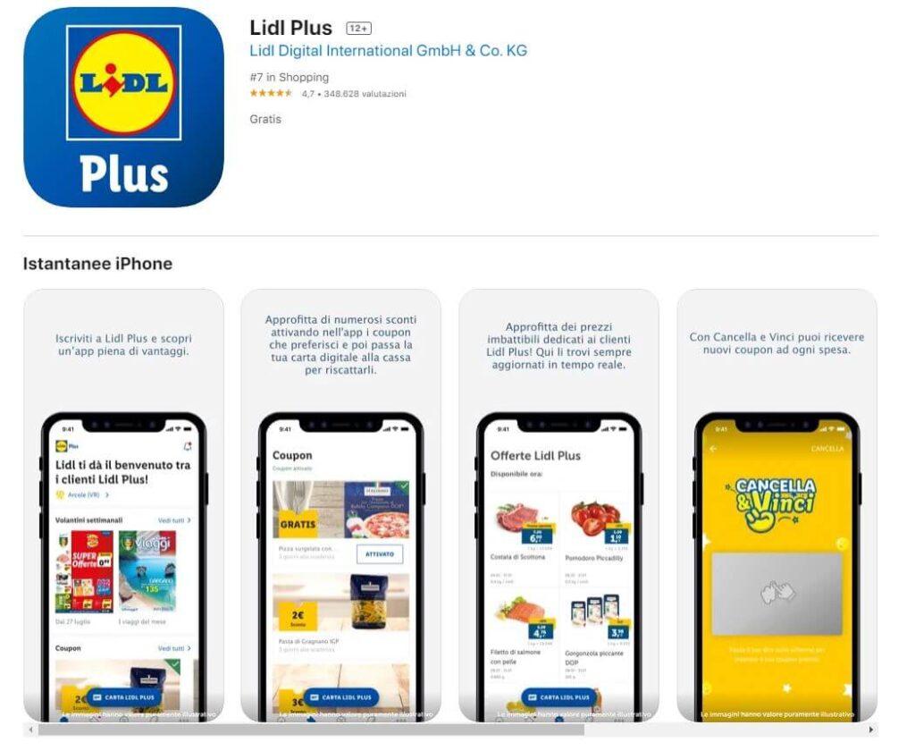app lidl plus ios