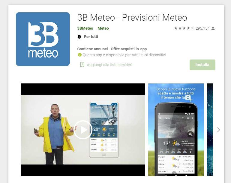 3b meteo app