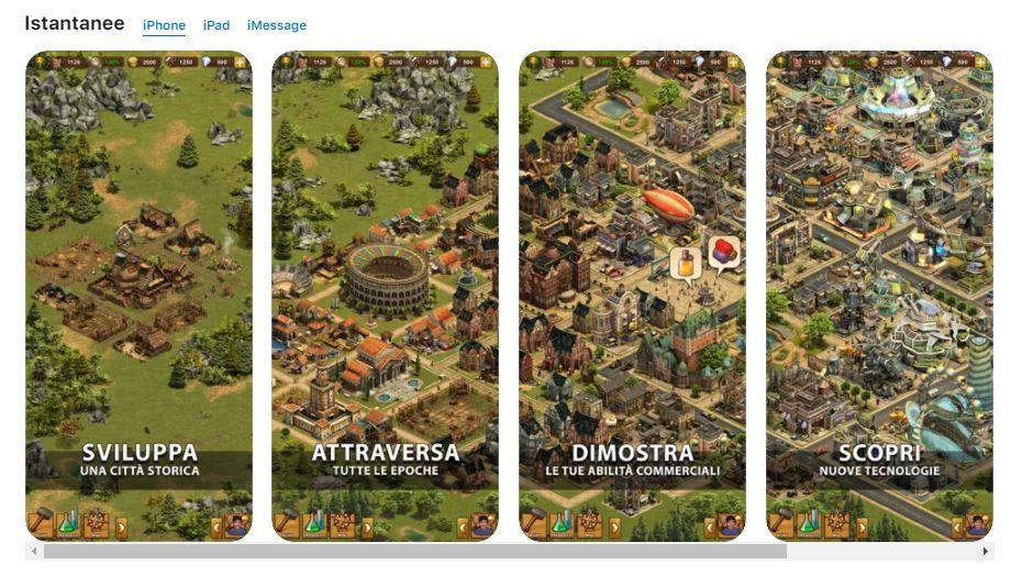 Forge of Empires su iOS
