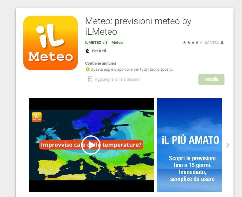 il meteo app