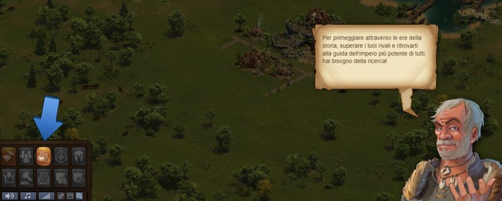 ricerche Forge of empires