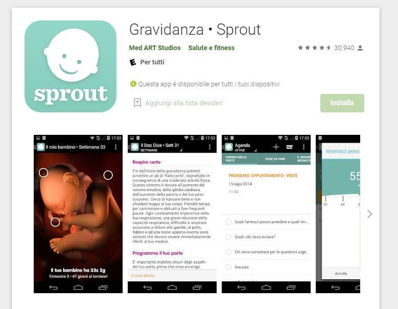 Gravidanza - Sprout