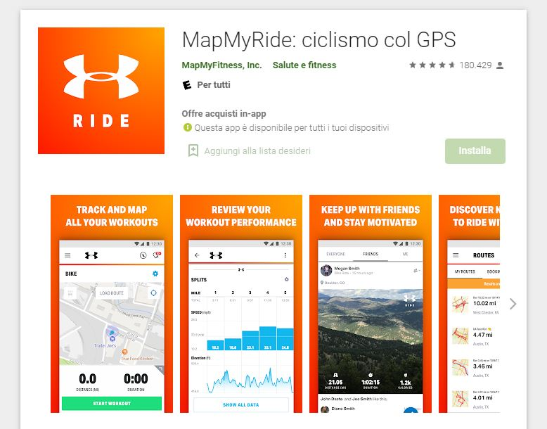 Map My Ride