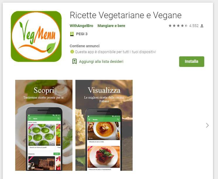 Ricette Vegetariane e Vegane